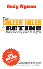 The Golden Rules of Acting - SIGNED COPY