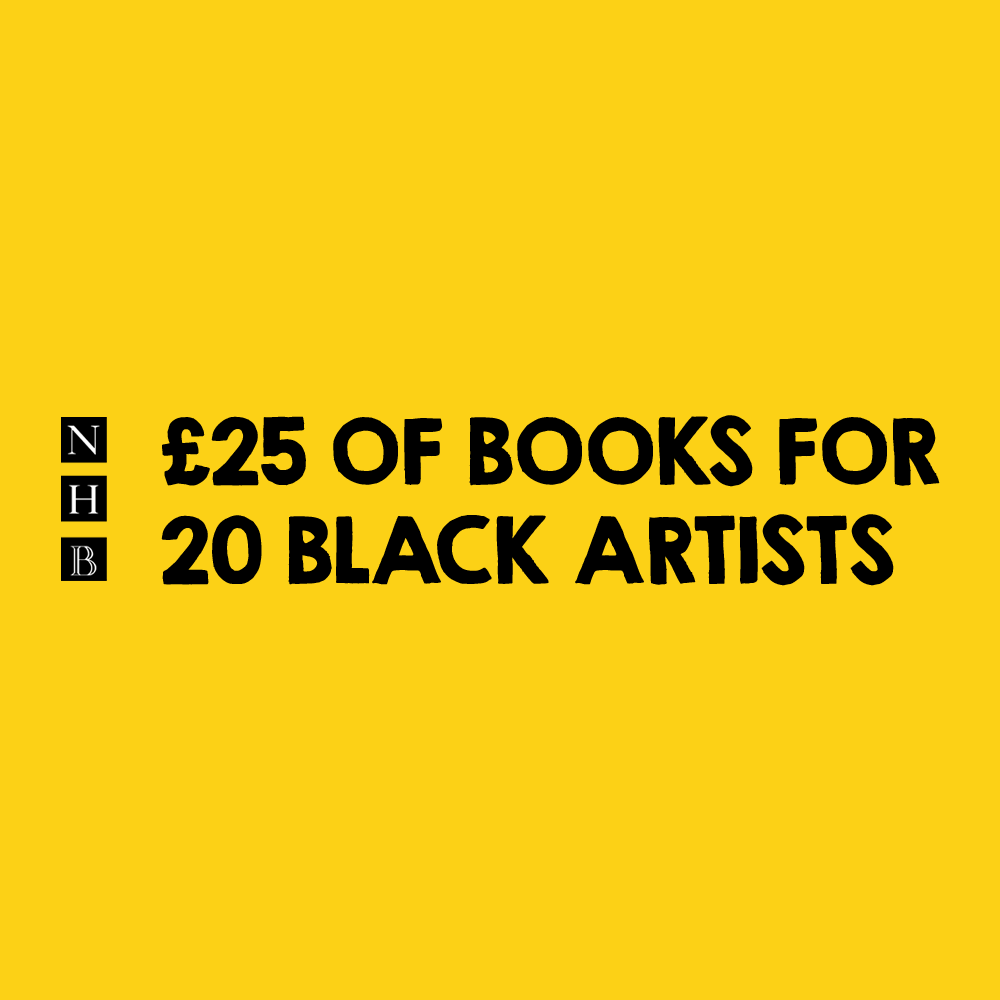£25 of books for 20 Black artists