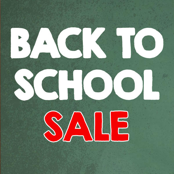 Save 30% in our Back to School Sale