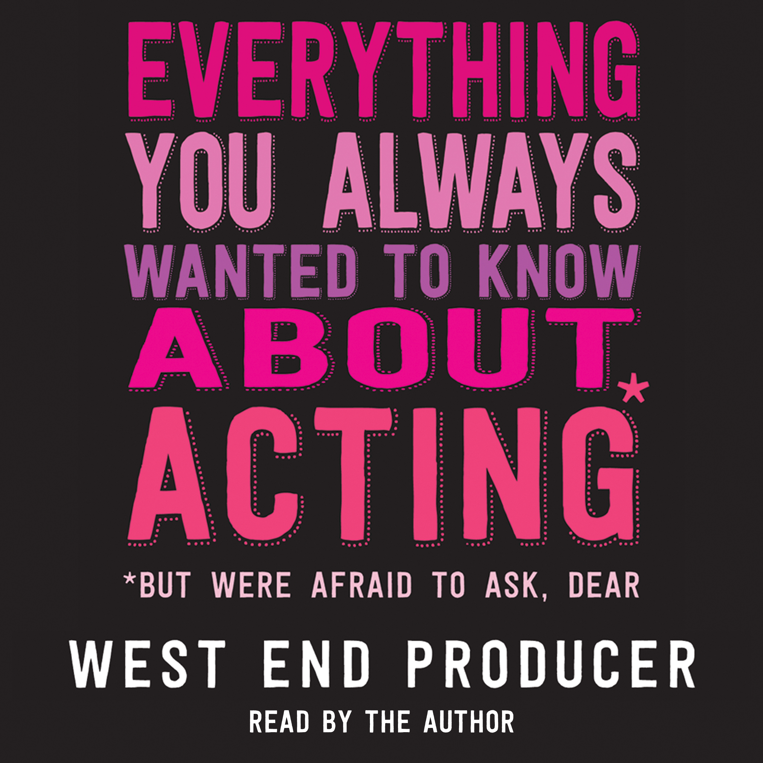 West End Producer audiobook out now
