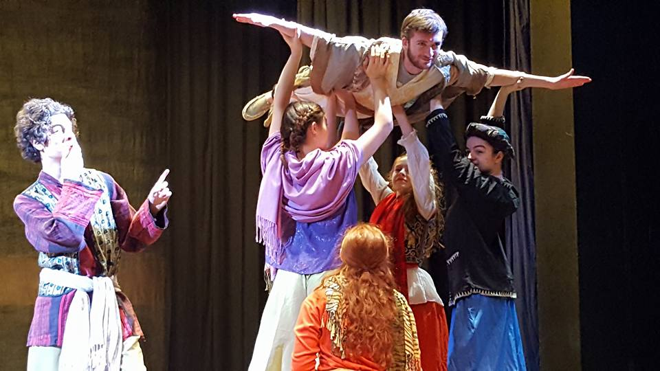 Nick Hern Books - Plays to Perform - Advertise Your Show images - Arabian Nights Shenandoah