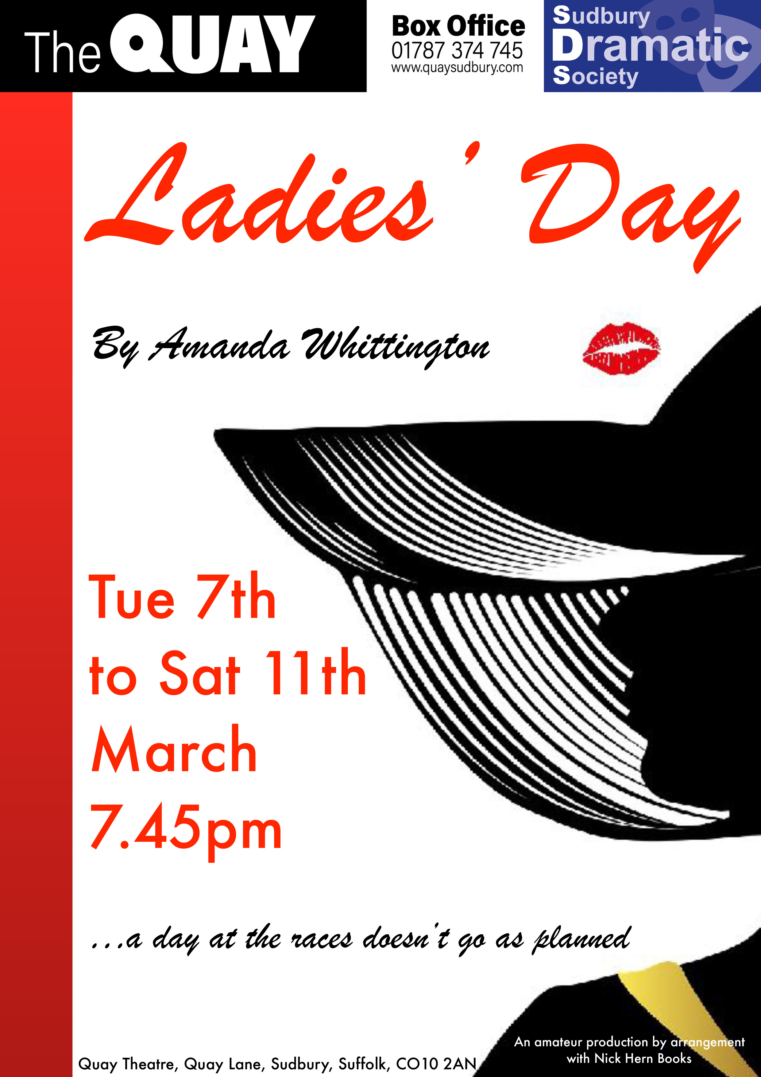 Nick Hern Books - Plays to Perform - Advertise Your Show images - Ladies' Day Sudbury