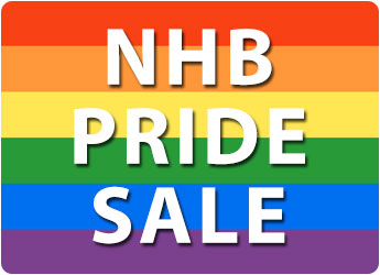 Celebrate great LGBT+ writing with 30% off in the NHB Pride Sale