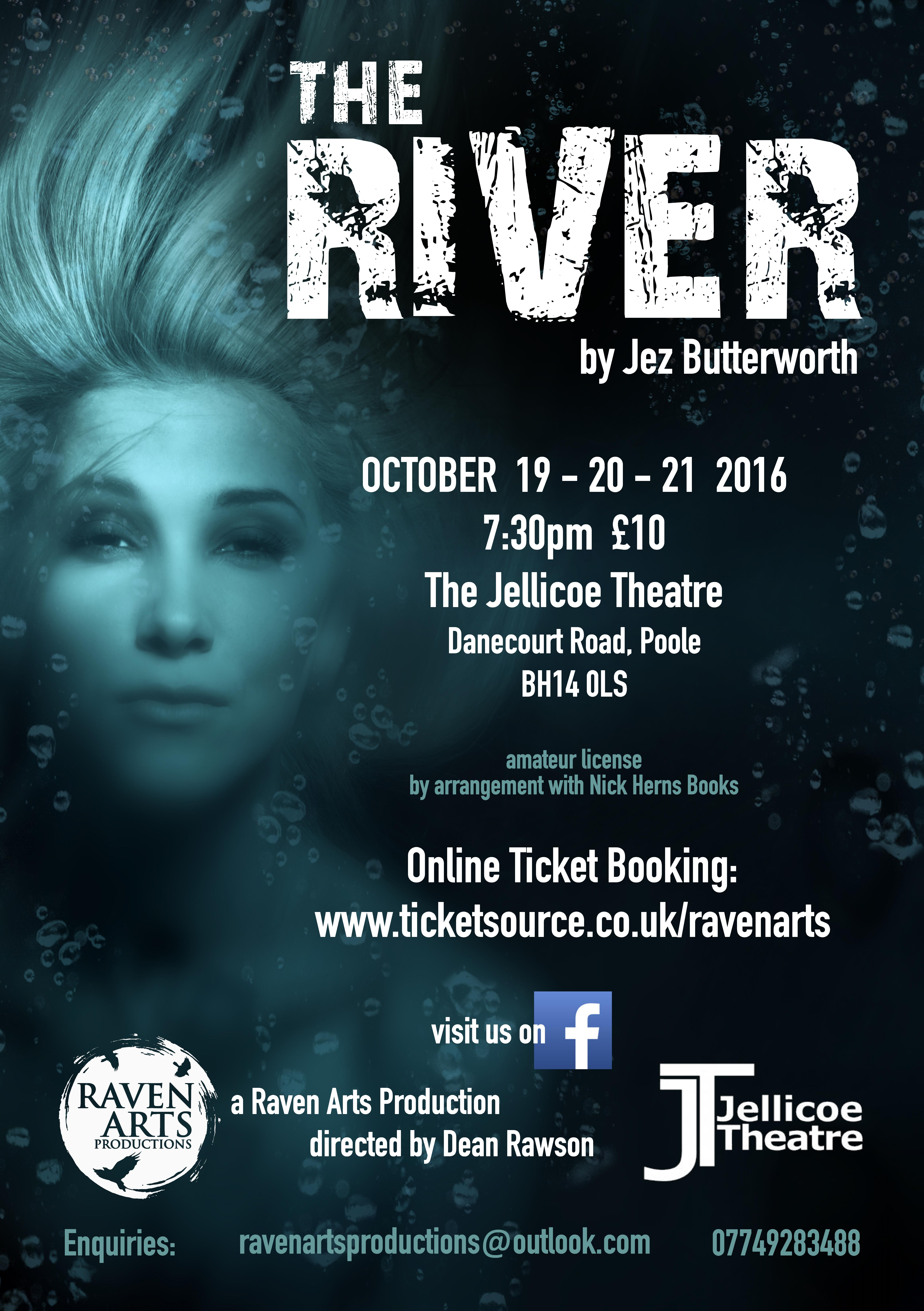 Nick Hern Books - Plays to Perform - Advertise Your Show images - The River Raven Arts