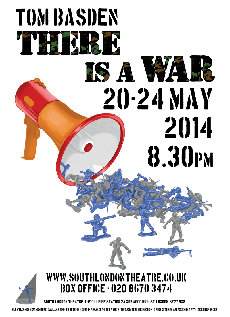 Nick Hern Books - Plays to Perform - Advertise Your Show images - There Is A War