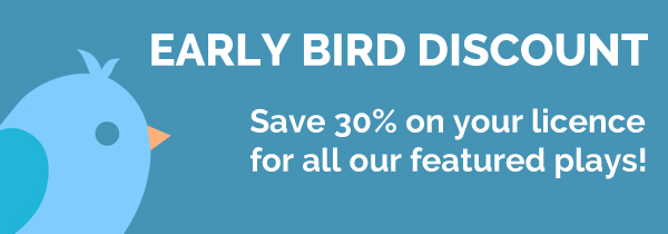 Plays to Perform newsletter now with Early Bird Discount