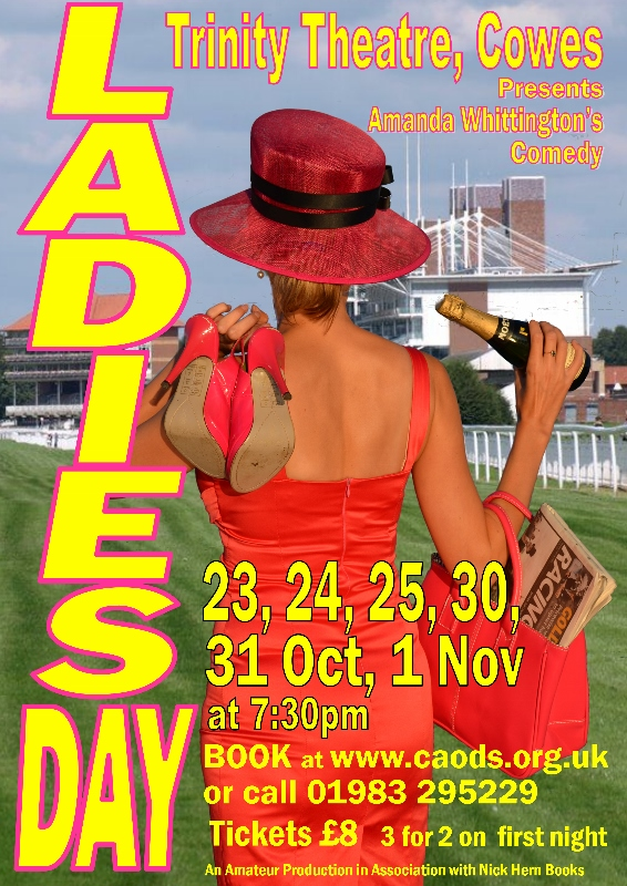 Nick Hern Books - Plays to Perform - Advertise Your Show images - Ladies Day SMALL COWES